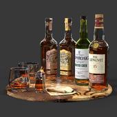 Set of bottles 03