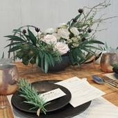 Flowers dish