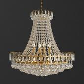 Luxury Royal Empire Golden European Crystal Chandelier