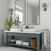 Furniture and decor for bathrooms