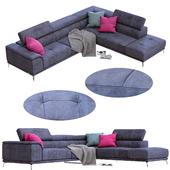 Sofa TIZIANO from NICOLINE