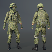 Soldier of the RF Armed Forces