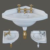 Corner washbasin Gentry