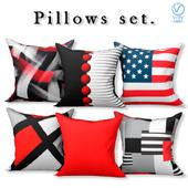 Set of decorative sofa cushions (Set 070).