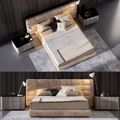 Minotti Lawrence Bed