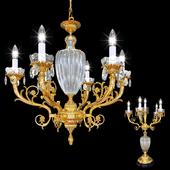 Люстра  Arizzi 445/6 + Настольная лампа Arizzi 445/6/L