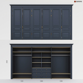 Встроенный шкаф 1