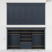 Встроенный шкаф 2