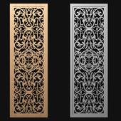decorative panel-partition