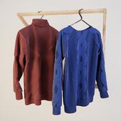 Sweaters on a hanger Schönbuch Sled