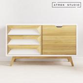 Scandinavian cabinet Atrox Studio OM