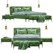Roche Bobois Ellica bed