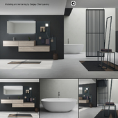 Bathroom furniture set Arcom Escape