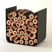 firewood logs holder