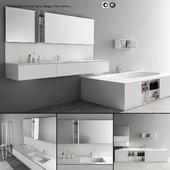 Bathroom furniture set Arcom Escape 2