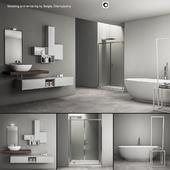 Bathroom furniture set Arcom e.Ly