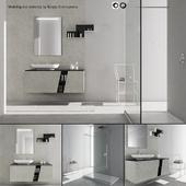 Bathroom furniture set Arcom e.Ly 2