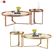 Made Aula coffee table & Side Table