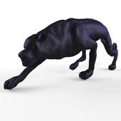 Decorative figurine of a cat