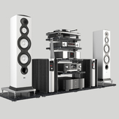 Elite Hi-End audio system from Mark-Levinson and Revel