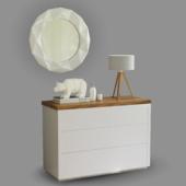 Tocador Minimalista Mod. BOLTON & decor elements