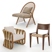 Rattan and Wicker Chairs I