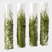 Leaves for square columns. 4 models