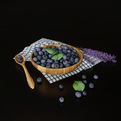 Blueberry with lavender