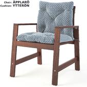 APPLARO and YTERRON chair set
