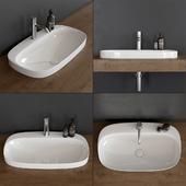 Washbasin Scarabeo Ceramiche Moon 5512