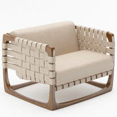 Bungalow armchair by RIVA 1920