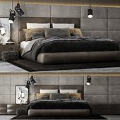 Poliform Dream Bed Headboard