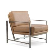 West Elm Metal Frame Chair (New)