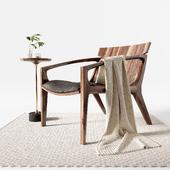 Designer Jader Almeida Linna armchair