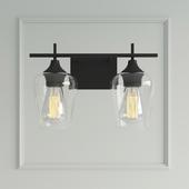Street lamp Marina 2-Light Vanity Light