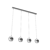 95912 Light-emitting diode. suspension CONESSA, 4х3,3W (GU10), L1010, steel, chrome / plastic, transparent