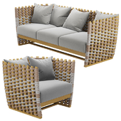 San Martin Outdoor Sofa-Lounge Chair