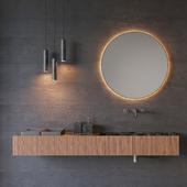 washbasin SALVATORI ADDA | Rectangular washbasin