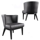 Boss Ava Accent Chair Black