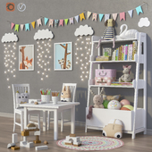 Toys and furniture (2 options) set 25