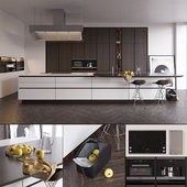 Kitchen Poliform Varenna Twelve (vray GGX, corona PBR)