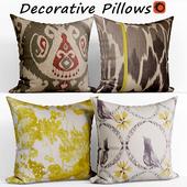 Decorative pillows set 132