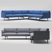 Muuto outline conner sofa