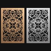 decorative panel-partition №2