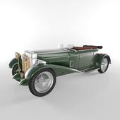 classic open car