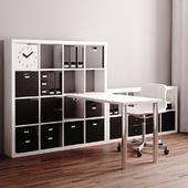 IKEA Kallax Workstation