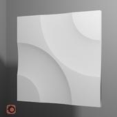 "Gypsum 3D panel ""Core"""