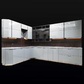 The kitchen is modern