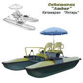 Catamaran Yantar (Water bicycle) new