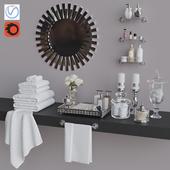 Decorative set for WC 1